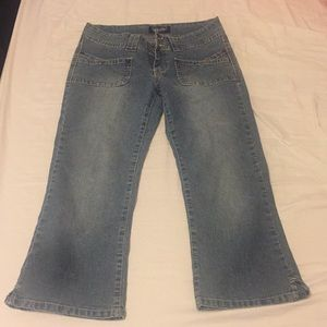 Angels Capri Cropped Jeans size 9 Junior